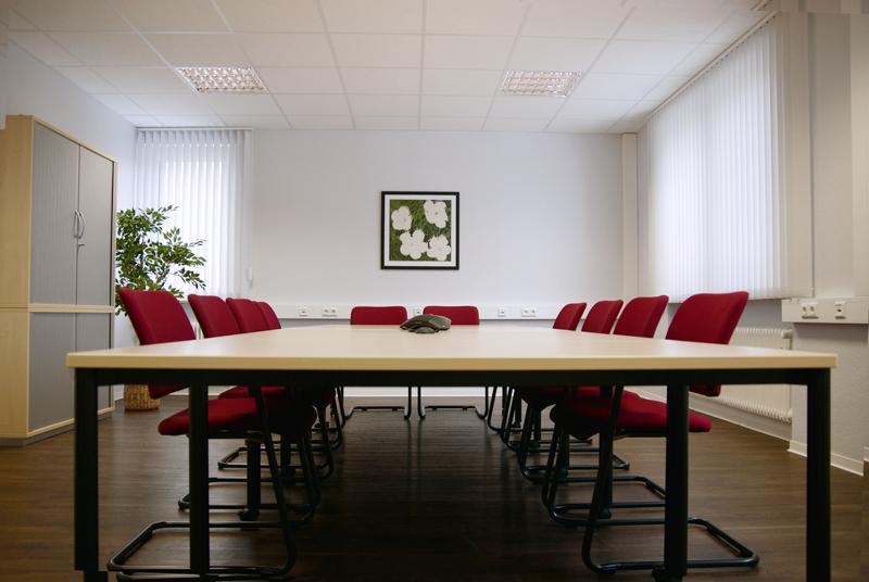Blick in den kleinen Meetingraum