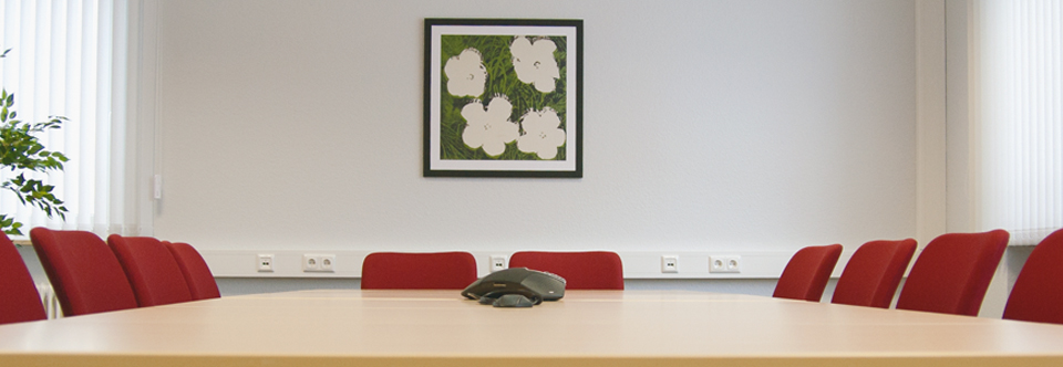 Kleiner Besprechungsraum IQ-Office Darmstadt